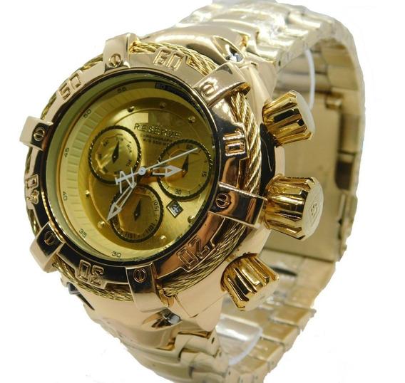 Relógios Masculinos Pesados Importado Luxo De Pulso Relógio
