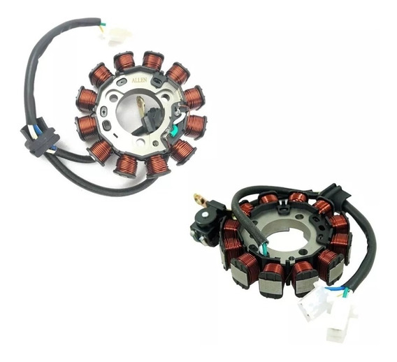 Estator Magneto Honda Cg Titan 160 Fan 160 Titan 150 14/17 Start 160 Até 2019 Mhx Et033