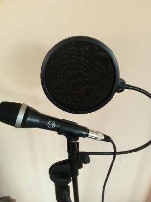 Microfone Akg D5 Semi Novo + Cabo Xlr + Pop Filter Arcano