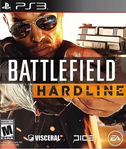 Battlefield Hardline Português Original Psn Ps3 Envio Rápido
