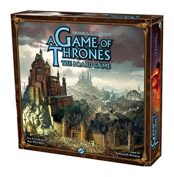 Board Game - A Guerra Dos Tronos Board Game (2ª Edição)