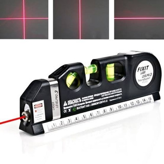 Nivel Laser Nivel Burbuja 3 Modos Flexometro De 5m