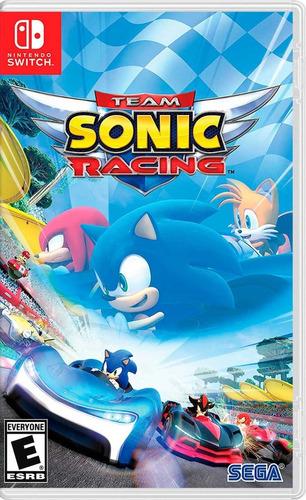 Imagen 1 de 5 de Team Sonic Racing - Nintendo Switch
