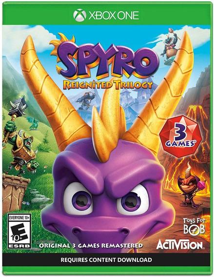 Spyro Reignited Trilogy - Xbox One - Mídia Física