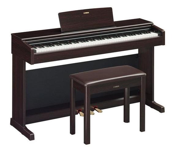 Piano Digital Yamaha Arius Ydp144 Rosewood Com Banco