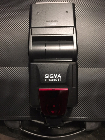 Flash Sigma Ef 500 Dg St Sapata Nikon