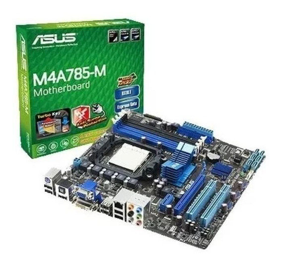 Kit Placa Mãe Asus M4a785-m+ Amd Atlhon 2x2 245 2gb Ram Ddr3