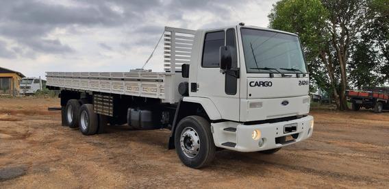 Ford Cargo 2428 Truck 6x2 Com Carroceria Ou No Chassi