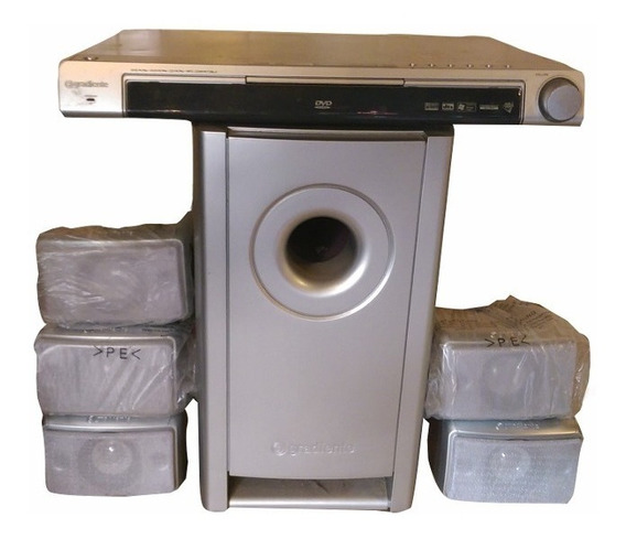 Home Theater Gradiente Stilus 2600w - Só As Caixas De Som