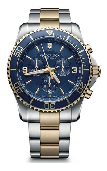 Relógio Victorinox 241791 Maverick Crono Sm 2 T Original