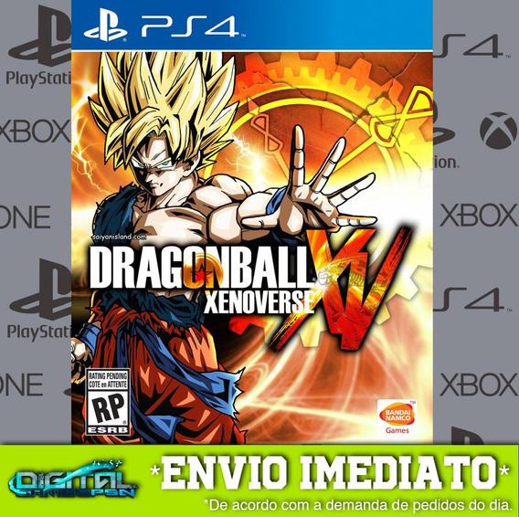 Dragon Ball Xenoverse Ps4 Psn Game Digital Envio Agora.