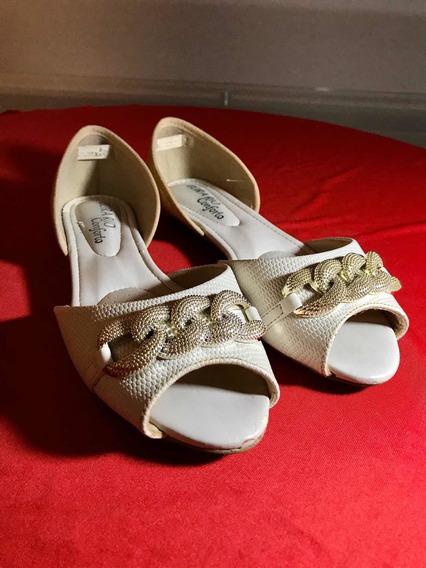 Sapato Peep Toe Beira Rio Conforto