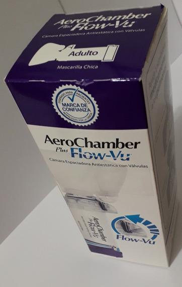 Aerochamber Plus Flow-vu Adulto Con Mascarilla Chica