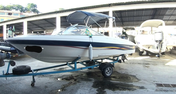 Bayliner Lancha Barco Ski Náutico 18 Pés Import Pesca Lazer