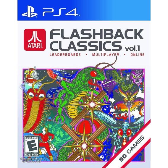 Atari Flashback Classics Vol 1 - Ps4 - Mídia Física Lacrado