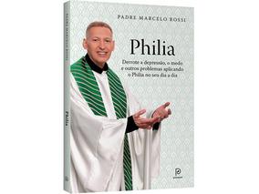 Livro Philia (brinde Medalha N. Senhora) Padre Marcelo Rossi
