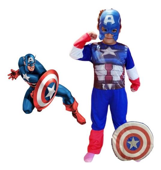 Disfraz Avengers Capitan Iron Man Spider Man Thanos Thor