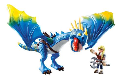 Astrid & Stormfly Playmobil Cómo Entrenar A Tu Dragón