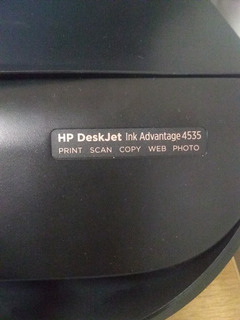 Impresora Hp 4535 Multifunción Hp Ink Advantaje