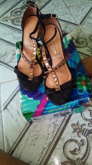 Sapato De Salto Vizzano Usado