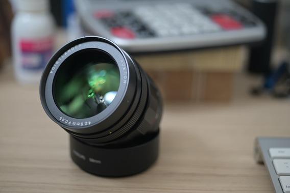 Voigtlander 42.5mm 0.95 Panasonic Gh5 Mft M4/3 Four Thirds