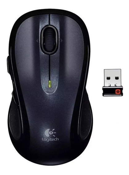 Mouse Sem Fio Logitech M510 Unifying Preto Wireless + Nfe