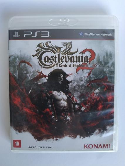 Castlevania Lords Of Shadow 2 Ps3 Original Mídia Física