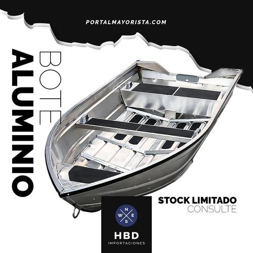 Bote Aluminio Deport Hit 3.80 Mts