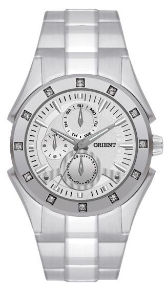 Relógio Orient Feminino Aço Fundo Prata 11693