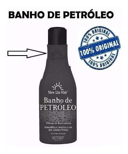 Banho De Petroleo New Liss Hair 500ml Liberado Low Poo