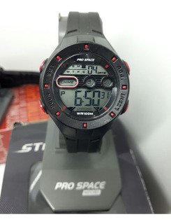 Reloj Pro Space Psd0068-dir-1h Digital Sumergible Unisex