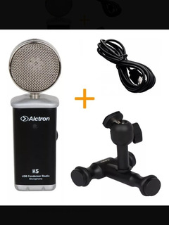 Micrófono Usb Alctron Mas Cable Otg Permuto
