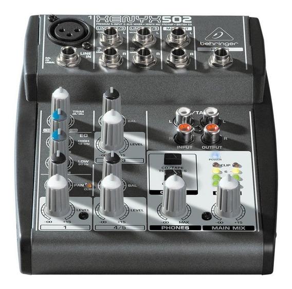 Mixer Xenyx 110v 502 Behringer Nfe