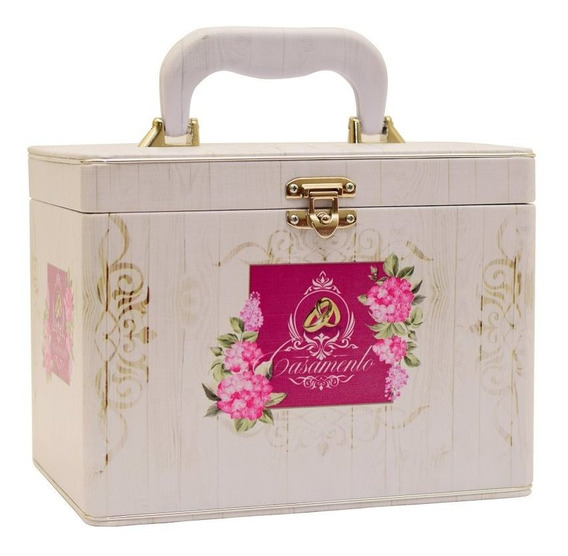 Álbum Fotográfico Casamento Maleta Box Luxo 240 Fotos 13x18