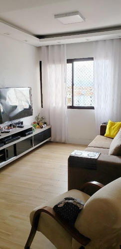 Apartamento Com 2 Dormitórios À Venda, 80 M² Por R$ 375.000,00 - Centro - São Vicente/sp - Ap5711