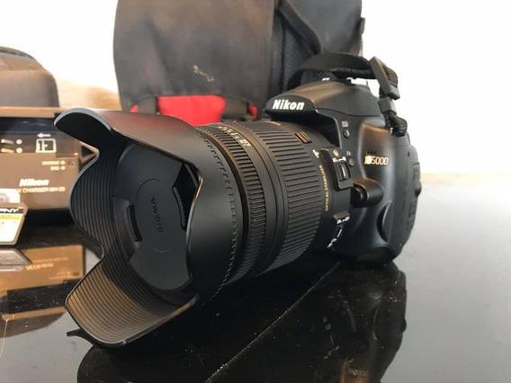 Nikon D5000 Com Lente Sigma 18-250mm