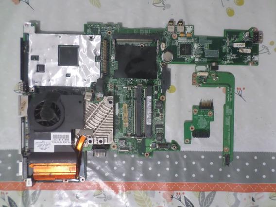 Kit Placa Mãe Notebook Compaq Business Nx6105