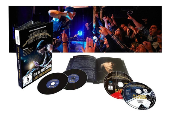 Box Michael Schenker - On A Mission Live In Madrid (2blu 2cd
