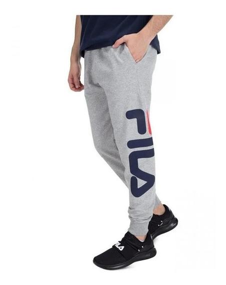 Pantalon Fila Basic Letter Hombre Casual Moda Urbano