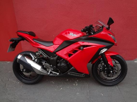 Kawasaki Ninja 300 2014 Vermelha