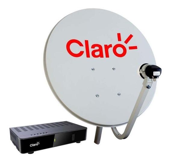 Kit Completo Receptor Claro Livre + Antena Ku 60