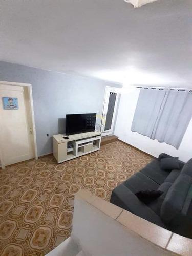 Casa Com 2 Dorms, Vila São Jorge, São Vicente - R$ 295 Mil, Cod: 1697 - V1697