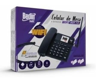 Telefone Celular De Mesa Bdf-12 5 Bandas 3g Com Wifi Radio