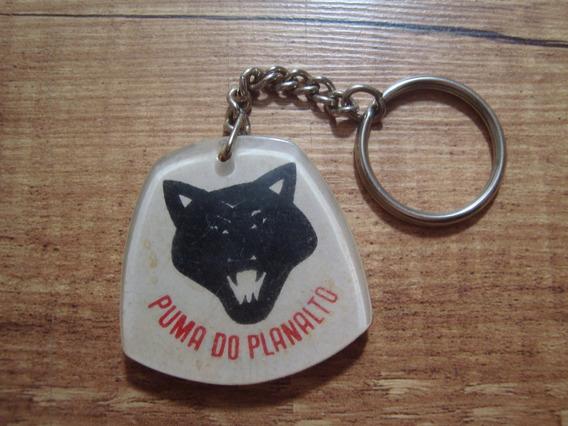 Chaveiro Antigo Puma Do Planalto Pelotão Policia Rodoviária