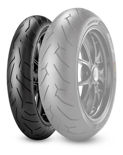 Cubierta 110 70 17 Pirelli Diablo Rosso 2 Zanella Zr3 250-