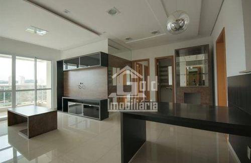 Imagem 1 de 6 de Apartamento À Venda, 120 M² Por R$ 800.000,00 - Jardim Irajá - Ribeirão Preto/sp - Ap4270