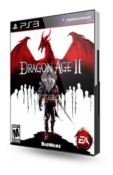 Jogo Dragon Age 2 Ps3 Novo Lacrado Midia Fisica