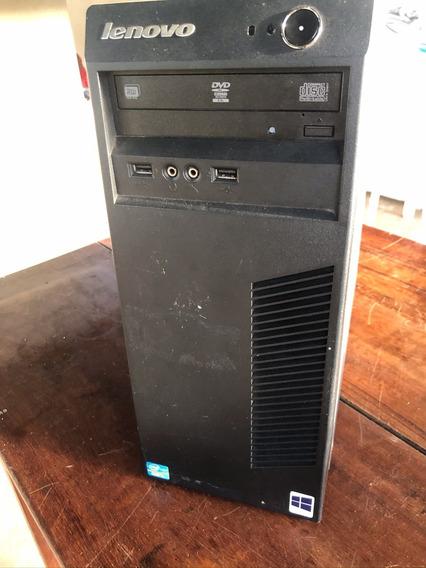 Desktop Lenovo Thinkcentre Core I3 4gb Ram 500gb Hd