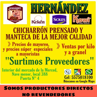 Chicharron Prensado, Mayoreo Y Menudeo