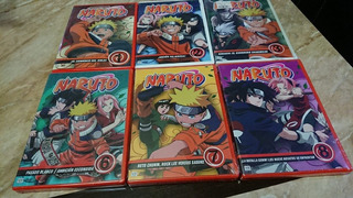 Naruto, Dvd Volumen 1-2-3-6-7-8